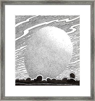 Egg Drawing 069827 Framed Print