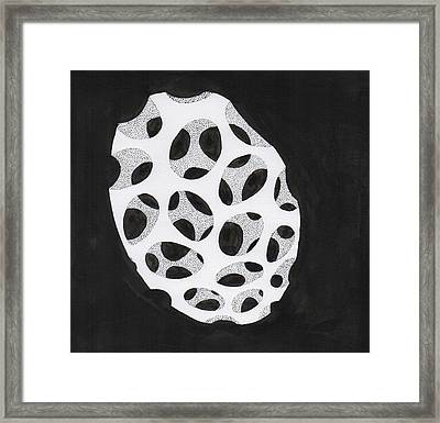 Egg Drawing Mm9907 Framed Print by Phil Burns
