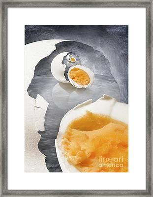 Egg In A Egg In A Framed Print by Johnny Hildingsson