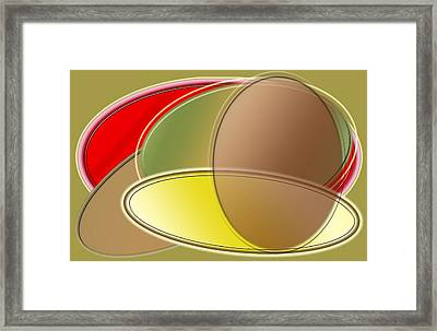 Egghead And Branes Framed Print by Mother Nature
