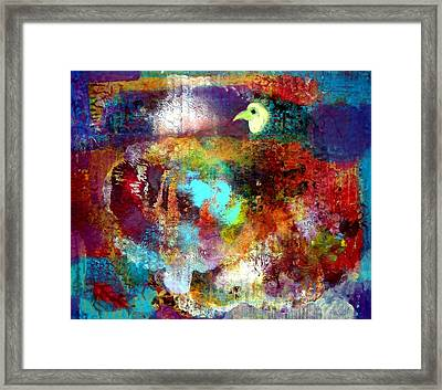 Eggs Under Beneath The Wings Framed Print by Aquira Kusume