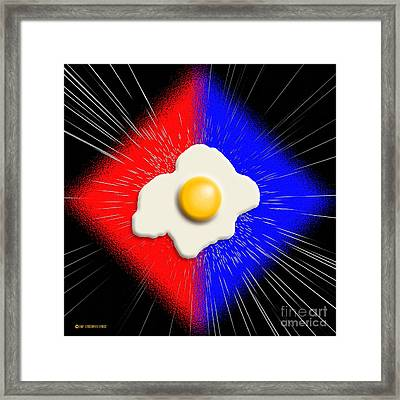 Egguinox Framed Print by Cristophers Dream Artistry