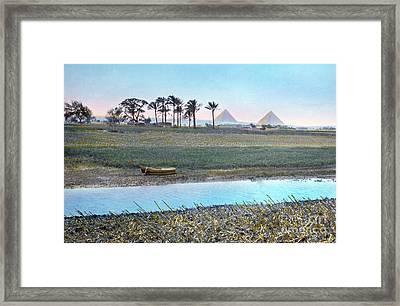 Egypt: Goshen Framed Print