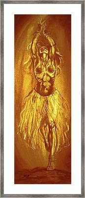 Egyptian Dancer 2 Framed Print