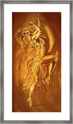 Egyptian Dancer 3 Framed Print