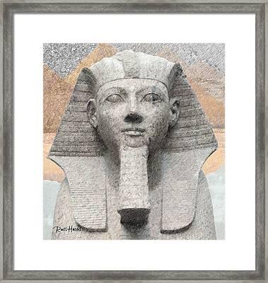 Egyptian God Framed Print