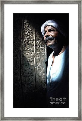 Egyptian Portrait 2 Framed Print