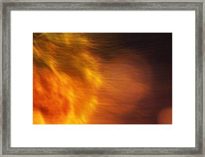 Egypt's Flame Framed Print