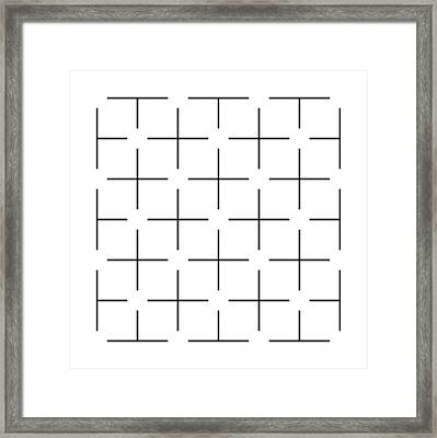 Ehrenstein Illusion Framed Print by