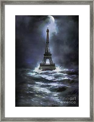 Eiffel   Framed Print by Andrzej Szczerski