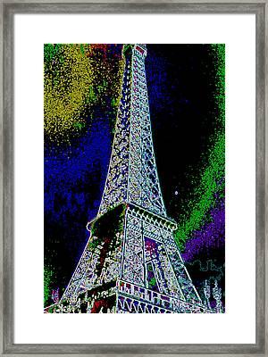 Eiffel Framed Print by David Alvarez
