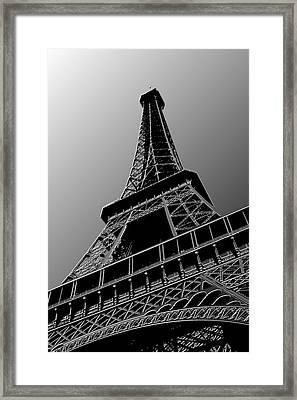 Eiffel Framed Print by Heather Applegate