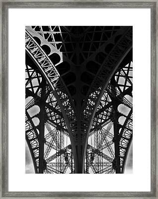 Eiffel Tower - Paris Framed Print by Juergen Weiss