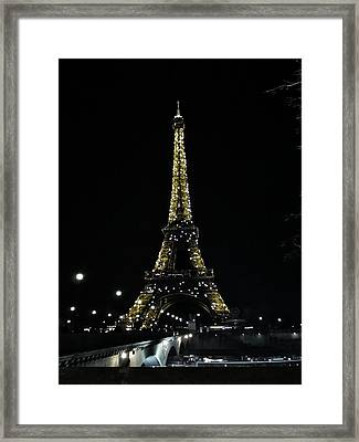 Eiffel Tower - Paris Framed Print