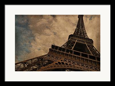 The Eiffel Tower Framed Prints