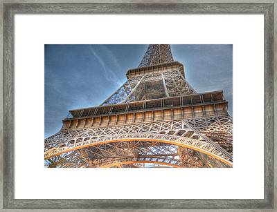 Eiffel Tower Framed Print by Barry R Jones Jr
