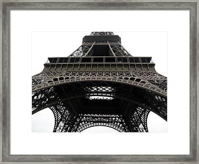 Eiffel Tower Framed Print by G Fletcher