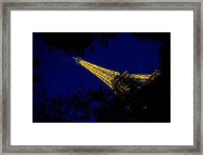 Framed Print featuring the photograph Eiffel's Magnificence by Marta Cavazos-Hernandez