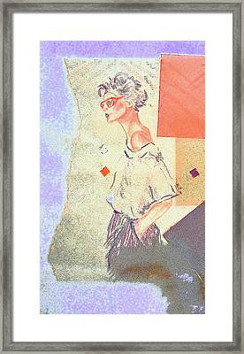 Eighties Framed Print