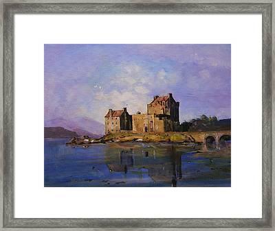 Eilean Donan Castle Framed Print by Peter Tarrant