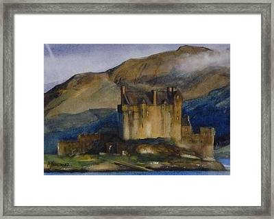 Eilean Donan Castle Framed Print by Tony Northover