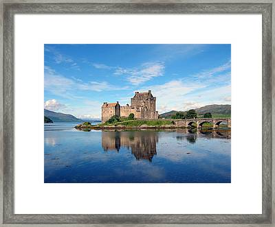 Eilean Donan Framed Print by Harvey Barrison