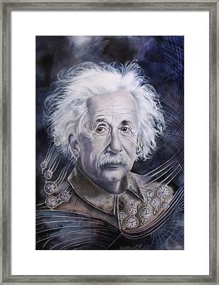 Einstein Framed Print by Tanya Jacobsz