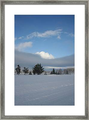 Framed Print featuring the photograph Either Way by Holly Ethan