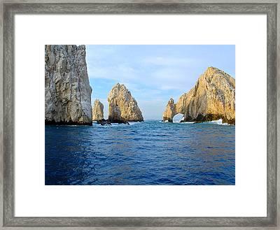 El Arco Framed Print by Karon Melillo DeVega