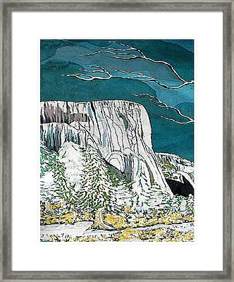 El Capitan Framed Print by Alexandra  Sanders