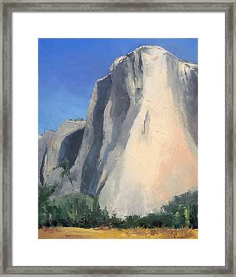 El Capitan Framed Print by Jennifer Kane
