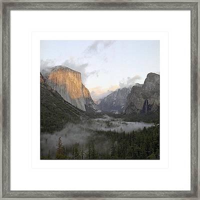 El Capitan. Yosemite Framed Print