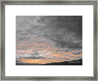 El Cielo - Ile De La Reunion Framed Print by Francoise Leandre