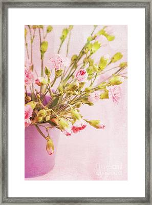 El Clavel  Framed Print by Angela Doelling AD DESIGN Photo and PhotoArt