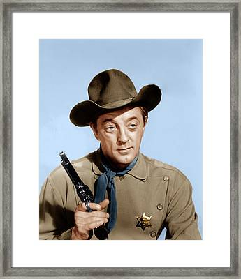 El Dorado, Robert Mitchum, 1966 Framed Print by Everett