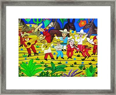 El Mariachi Framed Print by Robert Almeida