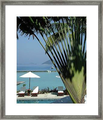 El Nido Vacation Framed Print by Tia Anderson-Esguerra