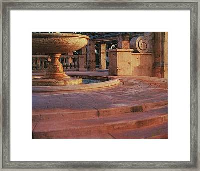 Framed Print featuring the photograph El Prado by Bob Whitt