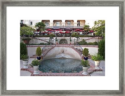 El Prado Restaurant Balboa Park Framed Print