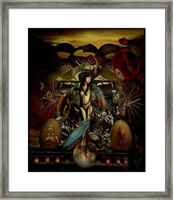 El Templo Framed Print by Raul Villalba
