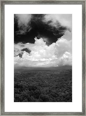 El Yunque National Forest Framed Print by Julie VanDore
