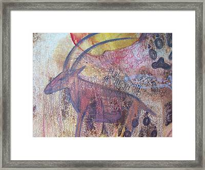 Eland Framed Print by Vijay Sharon Govender