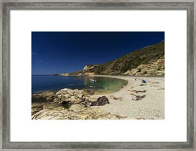 Elba Island - Solitary Beach - Spiaggia Solitaria - Ph Enrico Pelos Framed Print