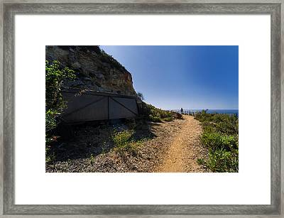 Elba Island - The Ancient Path - Il Vecchio Sentiero - Ph Enrico Pelos Framed Print