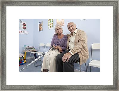Elderly Patients Framed Print by Adam Gault