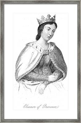 Eleanor Of Provence Framed Print