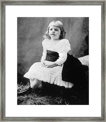 Eleanor Roosevelt 1884-1962, Ca. 1889 Framed Print by Everett