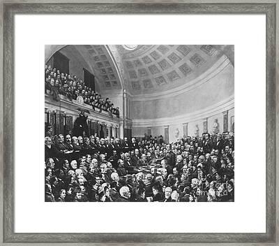 Electoral Commission 1877 Framed Print