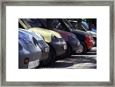 Electric Cars Framed Print by Volker Steger