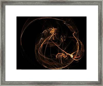 Electric Chair Experience Framed Print